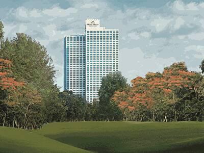 Hotel Mulia Senayan - Exterior Golf View